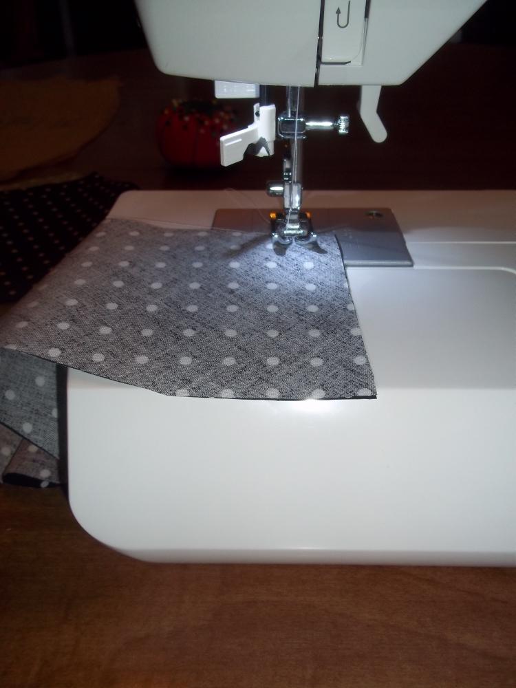 Sew both flounces
