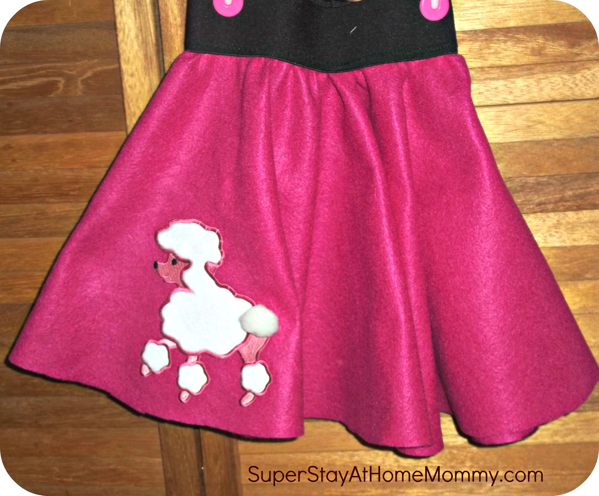 Poodle Skirt Super Stay At Home Mommy