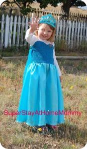 Elsa dress 2